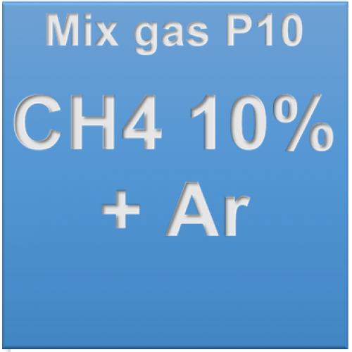 Khí hỗn hợp CH4 10% + Ar balance